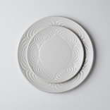 馬の目皿(丸皿|志野)