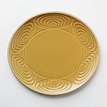 馬の目皿(オーバル|黄瀬戸)